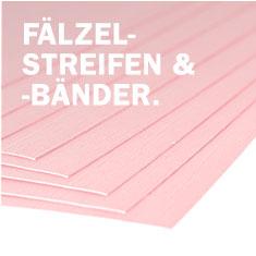 Fälzelstreifen/Fälzelbänder