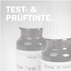 Testtinte / Prüftinte